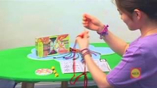 Плетем фенечки с узорами