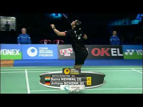 F - WS - Saina Nehwal vs Juliane Schenk - 2012 Yonex Denmark Open