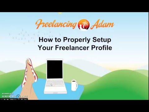 #FreelancingAdam  Setup Your Upwork Profile to Attract Paying Clients