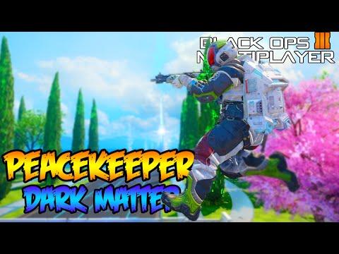 BLACK OPS 3 MULTIPLAYER - DARK MATTER PEACEKEEPER MK2 GAMEPLAY GRIND! (BO3 Camo)