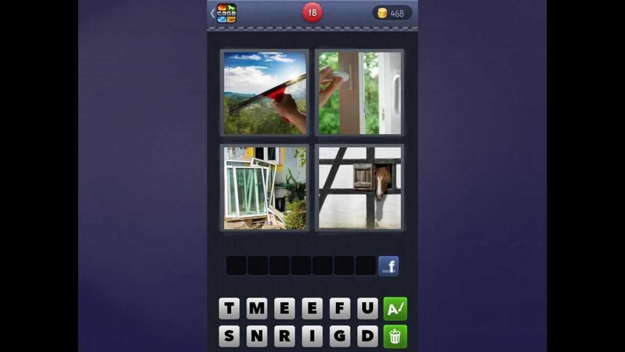 4 Bilder 1 Wort Lösung Fenster Fenstergriff Fensterscheiben