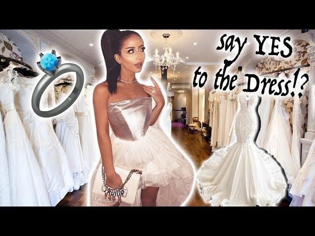 VERY #EXTRA WEDDING DRESS SHOPPING!