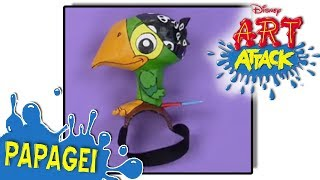 Disney Junior - Art Attack - Papagei