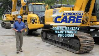 Komatsu CARE - Complimentary Maintenance Program