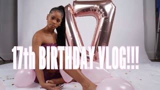 MY 17TH BIRTHDAY VLOG!! GRWM/HAIR/NAILS/ETC FT JULIAHAIR