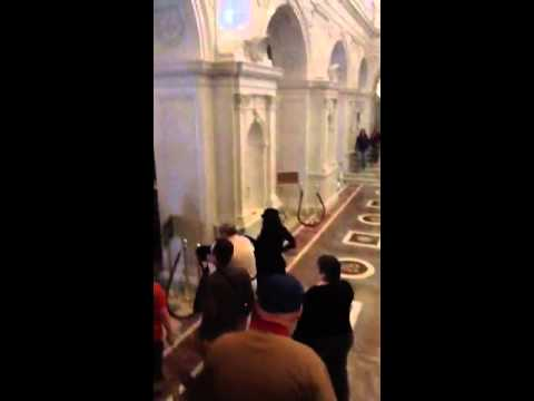 Evacuating the library of congress