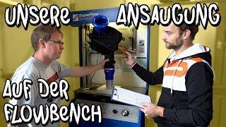 Wir messen unsere Kaltluftansaugung auf der Flowbench! - Audi RS4 B7 Teil 8 | Philipp Kaess |