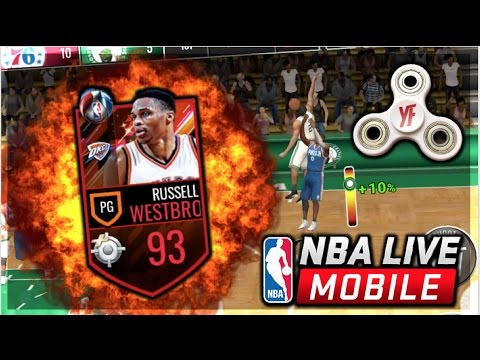 nba live mobile how to get legends russell westbrook
