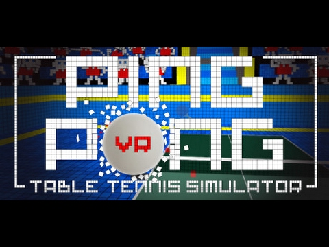 VR PING PONG by REDDOLL & MERGE, PlayStation VR Gameplay One