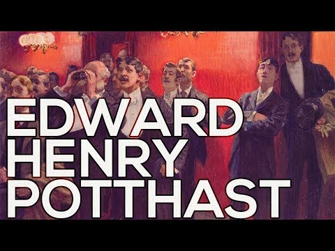 Edward Henry Potthast: A collection of 296 paintings (HD)