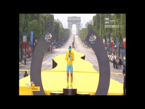Vincenzo Nibali discorso Tour de France 2014