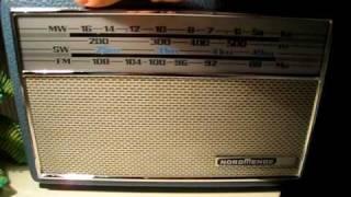 NordMende Transita deLuxe Radio receiver AM Dxing.