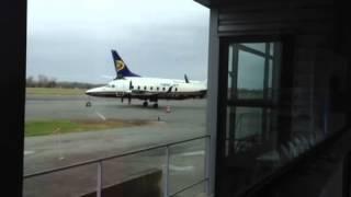 Ryanair Boeing 737-800 At Bergerac Airport EGC, France