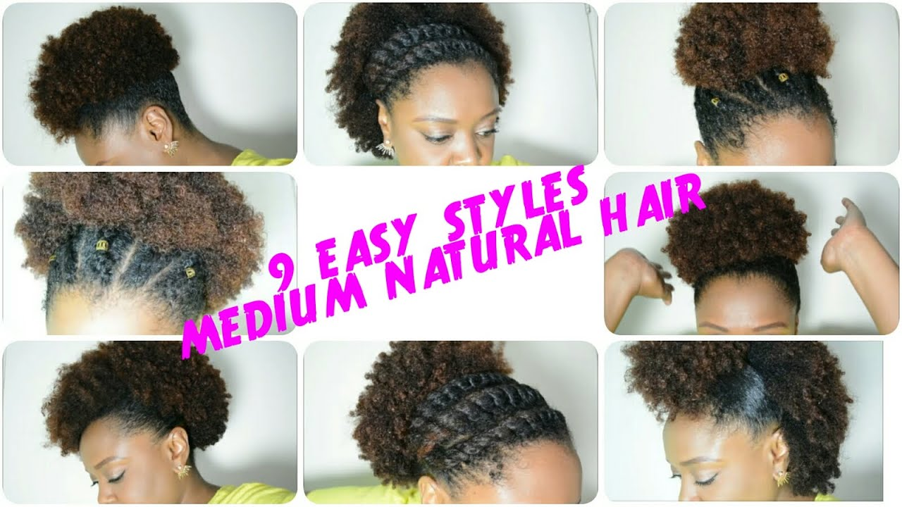9 BACK TO SCHOOL Hairstyles For MEDIUM NATURAL HAIR (2016