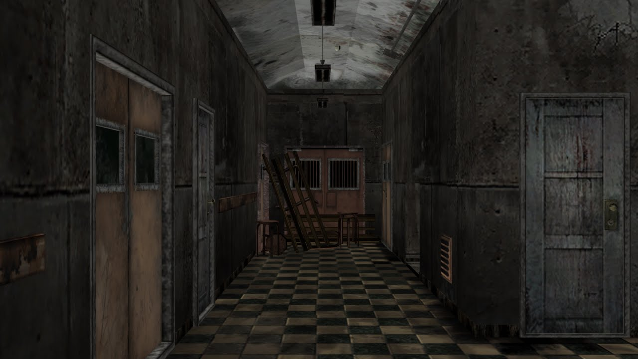 Silent Hill Exploration Brookhaven Hospital Wip Youtube