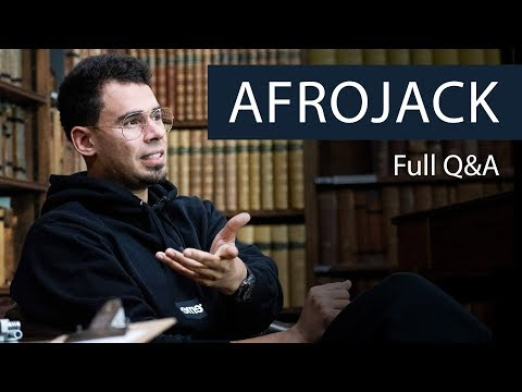 Afrojack | Full Q&A at The Oxford Union