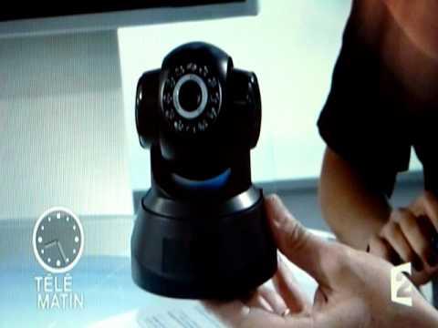 Camera IP VisionCam Heden sur Télématin (France 2)