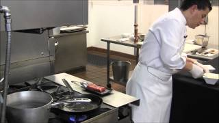 The Many-splendored Flat Iron Au Poivre Steak