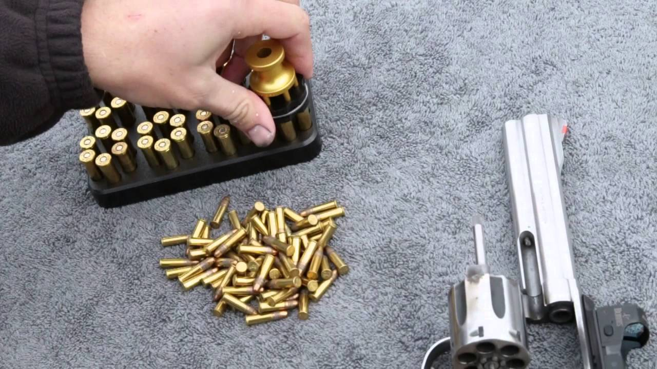 Using The Speed Beez Loader With A 38 357 Smith Wesson 686