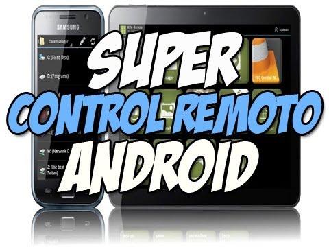 SUPER CONTROL REMOTO Para Teléfonos Android Y Tablets   Happy Tech Android