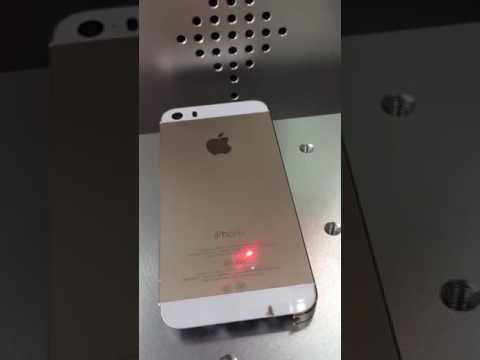 iPhone IMEI Fiber Laser Marking Printer Machine for iPhone Back Cover