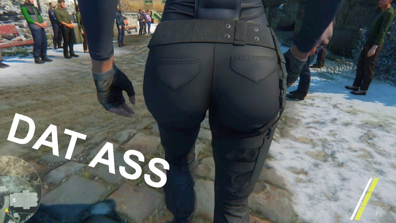 Best video game asses