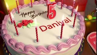 Happy Birthday Daniyal 2016