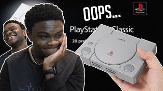 So I Accidentally Bought a PlayStation Classic....😅😭