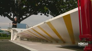 Anti-Terrorism Steel Barricades Installed At Fremont Street Festival