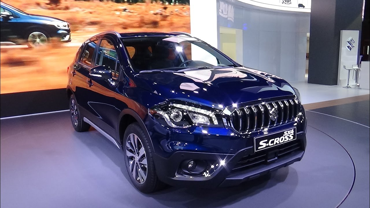 2017 suzuki sx4 s-cross - exterior and interior - paris auto show