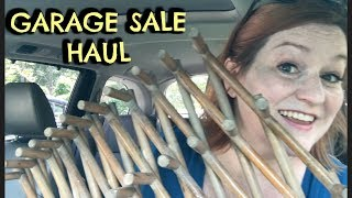 Garage Sale Haul - Treasures to Resell on EBay and Etsy - Spent $30 to Make $$$ Selling Online