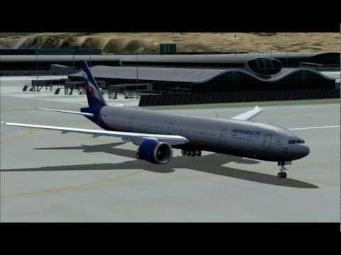 777 - 300ER AEROFLOT HONG KONG - MOSCOW