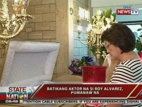 SONA: Batikang aktor na si Roy Alvarez, pumanaw na