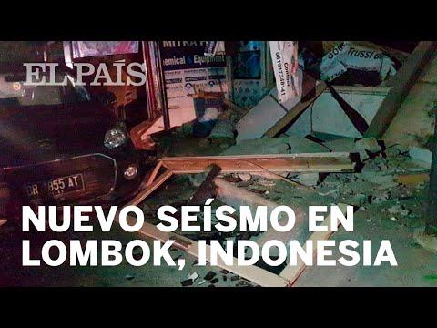 INDONESIA   Un nuevo terremoto de magnitud 7 sacude la isla de Lombok