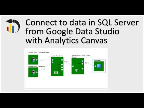 6 Ways to get data from SQL Server into Google Data Studio