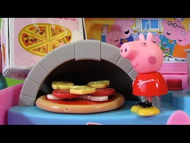 Peppa Pig Pizzeria Playset Carry Case - Juguetes de Peppa Pig