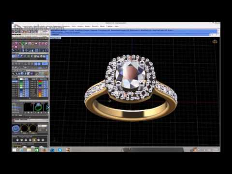 Μονόπετρο Δαχτυλίδι: 3d σχεδιασμός μονόπετρου δαχτυλιδιού!