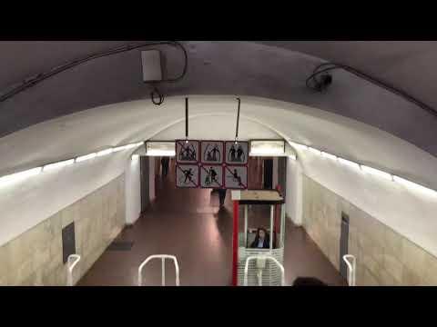 Using the Metro in Armenia on Halloween Night 2019