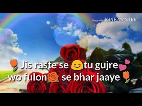 Jis Raste Se Tu gujre Wo Phoolon Se Bhar Jaye. //WhatsApp status // 😍love song😍