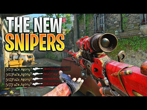 The New SNIPER BUFF Is AMAZING (Black Ops 4)