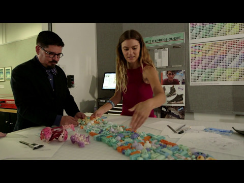 Savannah College of Art and Design (SCAD) - Stratasys Continuous Build 3D Demonstrator: