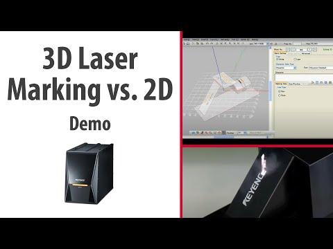 3D Laser Marking vs. 2D