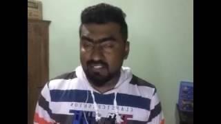 Sing Saman De Silwa Niyare Piyanagala on Sing! Karaoke with SanjRoxxx Smule