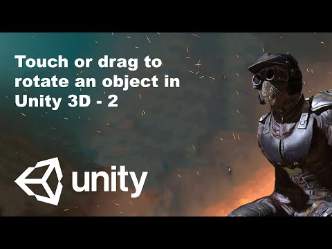 Rotate object with mouse click or touch in Unity3D | Aarlangdi