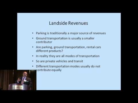 What Emerging Ground Transportation Alternatives Mean to Land side Management