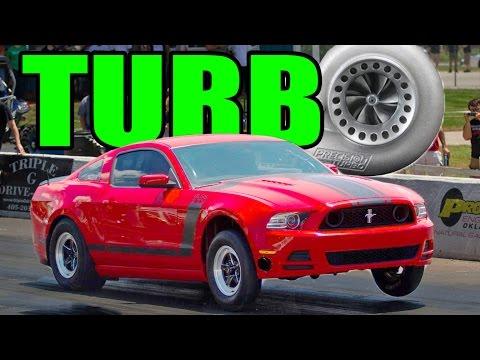 STREET SLEEPER 8-Second Turbo Mustang