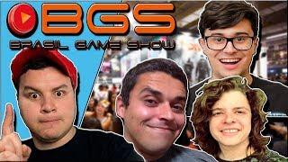 ENCONTRAMOS YOUTUBERS NA BGS! | Brasil Game Show 2018