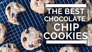 THE BEST CHOCOLATE CHIP COOKIES  yes theyre vegan!