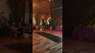 "Arika & Michelle Aerial Hoop Partner Act Sparkcon 2019 to ""Cherry"" by Lana Del Rey"