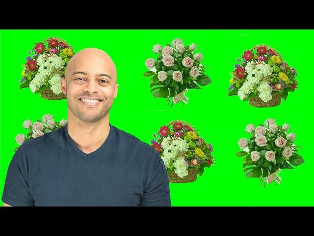 Bloemen voor de medewerkers